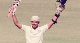 Twitter reactions on Prithvi Shaw's half-century on debut